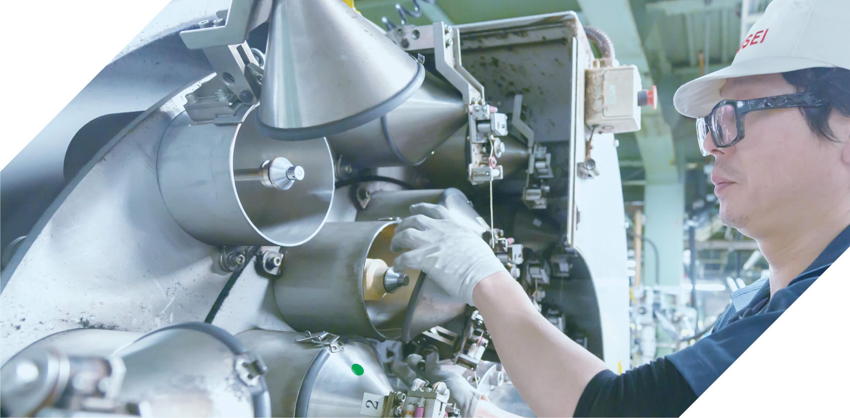 独自の生産技術production technology